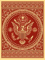 Presidential Seal Red 2007 Limited Edition Print by Shepard Fairey  - 0