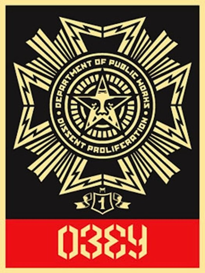 Public Works Medal 2004 Limited Edition Print by Shepard Fairey