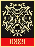 Public Works Medal 2004 Limited Edition Print by Shepard Fairey  - 0