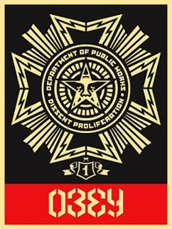 Public Works Medal 2004 Limited Edition Print - Shepard Fairey