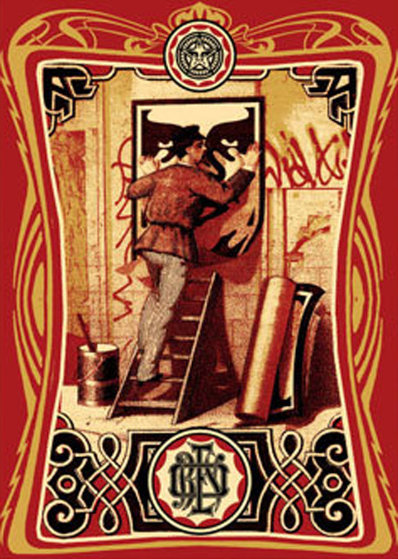 Vintage Poster 2006 Limited Edition Print by Shepard Fairey