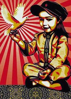 Vivi La Revolution 2008 Limited Edition Print - Shepard Fairey