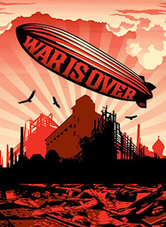 War is Over 2008 Limited Edition Print by Shepard Fairey