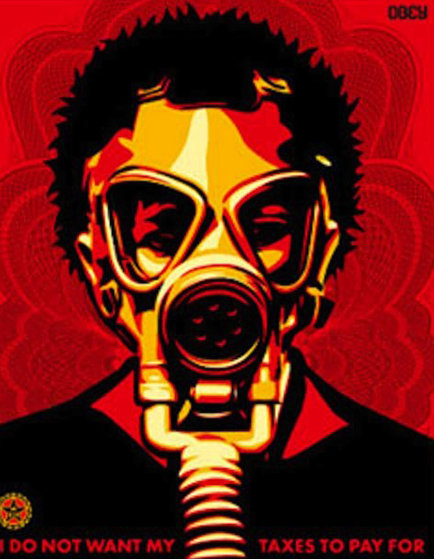 World Odor 2004 Limited Edition Print by Shepard Fairey