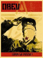 Zapatista 2001 Limited Edition Print by Shepard Fairey  - 1