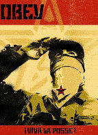 Zapatista 2001 Limited Edition Print by Shepard Fairey  - 0