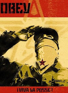 Zapatista 2001 Limited Edition Print - Shepard Fairey