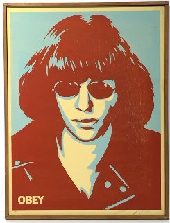 Ramone Canvas AP 2002 Limited Edition Print - Shepard Fairey