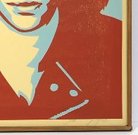 Ramone Canvas AP 2002 Limited Edition Print by Shepard Fairey  - 1