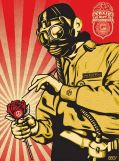 Toxicity Inspector 2007 Limited Edition Print - Shepard Fairey