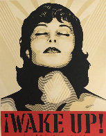 Wake Up! Set of 2 Prints 2017 Limited Edition Print by Shepard Fairey  - 2