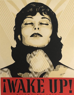 Wake Up! Set of 2 Prints 2017 Limited Edition Print - Shepard Fairey