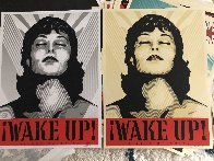 Wake Up! Set of 2 Prints 2017 Limited Edition Print by Shepard Fairey  - 0