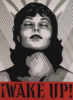 Wake Up! Set of 2 Prints 2017 Limited Edition Print by Shepard Fairey  - 1