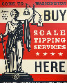 Scale Tipping 2014 Limited Edition Print - Shepard Fairey