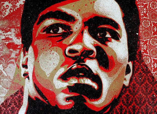 Muhammad Ali 2000 by Shepard Fairey