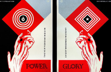 Interpolation Diptych AP 2014 Limited Edition Print by Shepard Fairey