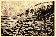 Dark Wave Limited Edition Print by Shepard Fairey  - 1