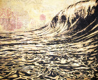Dark Wave Limited Edition Print by Shepard Fairey  - 2