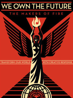 We Own the Future 2013 Limited Edition Print by Shepard Fairey