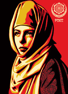 Universal Personhood 2013 Limited Edition Print by Shepard Fairey