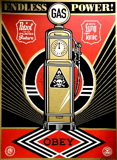 Endless Power 2013 Limited Edition Print - Shepard Fairey