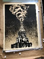 Oil And Gas Building 2014 Limited Edition Print by Shepard Fairey  - 1