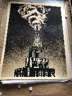 Oil And Gas Building 2014 Limited Edition Print by Shepard Fairey  - 2