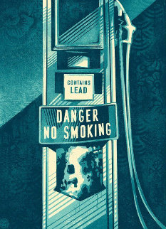Danger No Smoking AP 2016 Limited Edition Print - Shepard Fairey