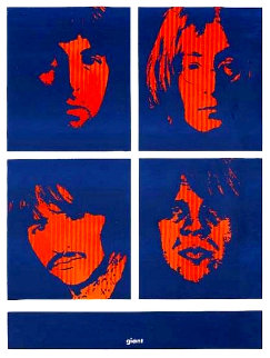Four Giant Beatles 1996 Limited Edition Print by Shepard Fairey