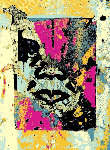 Obey Enhanced Disintegration (Pink)  Limited Edition Print - Shepard Fairey