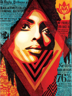 Bias By Numbers Limited Edition Print by Shepard Fairey