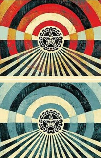 Tunnel Vision Set of 2 Limited Edition Print - Shepard Fairey