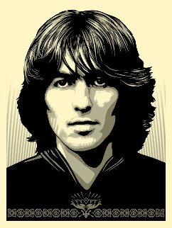 Poster For George Harrison Limited Edition Print - Shepard Fairey