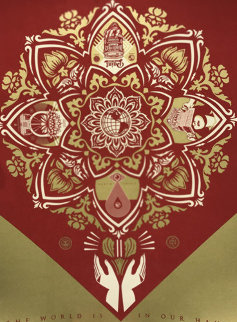 World is in Our Hands Limited Edition Print - Shepard Fairey