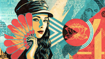 Fan the Flames Limited Edition Print by Shepard Fairey