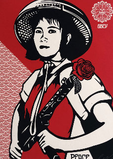 Supply And Demand 20th Anniversary Box Set of 4 Serigraphs 2009 Limited Edition Print by Shepard Fairey