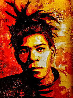 Basquiat 2010 Limited Edition Print by Shepard Fairey