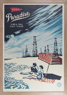 Paradise Until the Tide Turns Limited Edition Print by Shepard Fairey  - 1