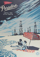 Paradise Until the Tide Turns Limited Edition Print by Shepard Fairey  - 2