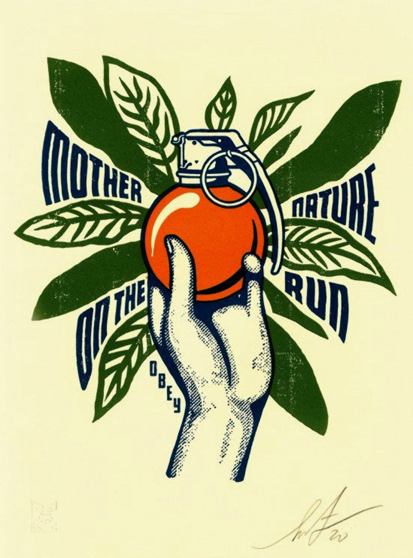 Mother Nature on the Run 2020 Limited Edition Print by Shepard Fairey