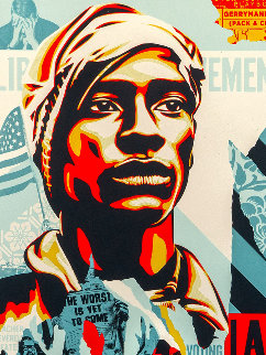 Voting Rights Are Human Rights 2020 Limited Edition Print - Shepard Fairey