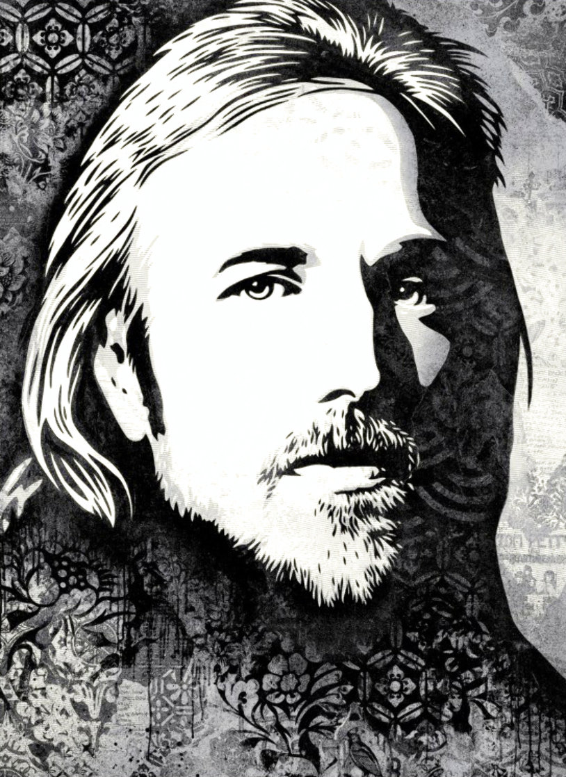 Tom Petty AP Limited Edition Print by Shepard Fairey