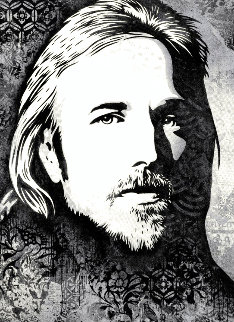 Tom Petty AP Limited Edition Print - Shepard Fairey