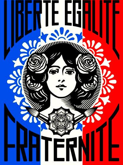 Liberte AP 2016 Limited Edition Print by Shepard Fairey