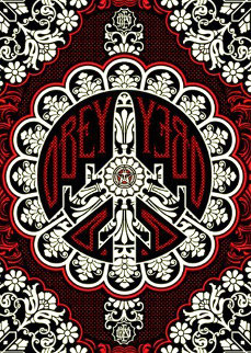 Peace Bomber 2008 AP Limited Edition Print - Shepard Fairey