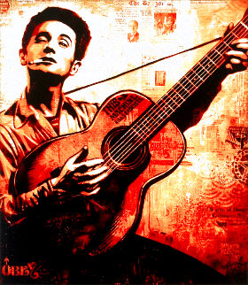 Woody Guthrie 2010 Limited Edition Print - Shepard Fairey
