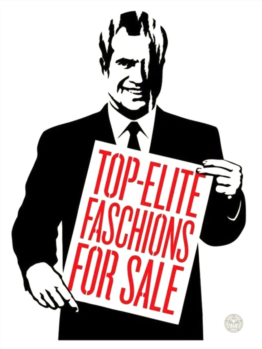 Top Elite Faschions For Sale 2011 Limited Edition Print by Shepard Fairey