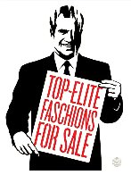 Top Elite Faschions For Sale 2011 Limited Edition Print by Shepard Fairey  - 0