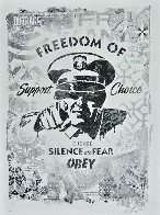 Freedom of Choice Stencil 2017 Limited Edition Print by Shepard Fairey  - 0